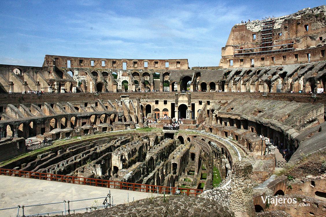 El Coliseo romano - Viajeros por el Mundo