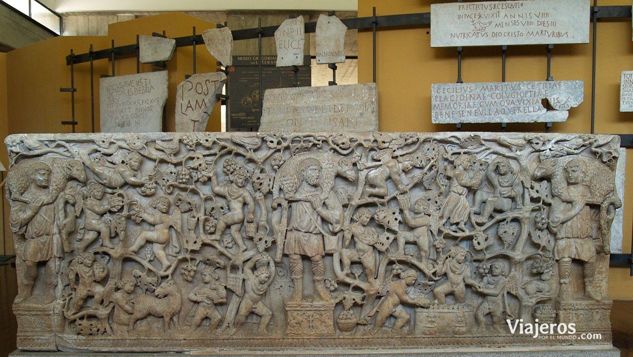 Sarcófago en los Museos Vaticanos