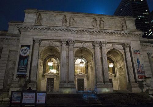La biblioteca pública de Nueva York