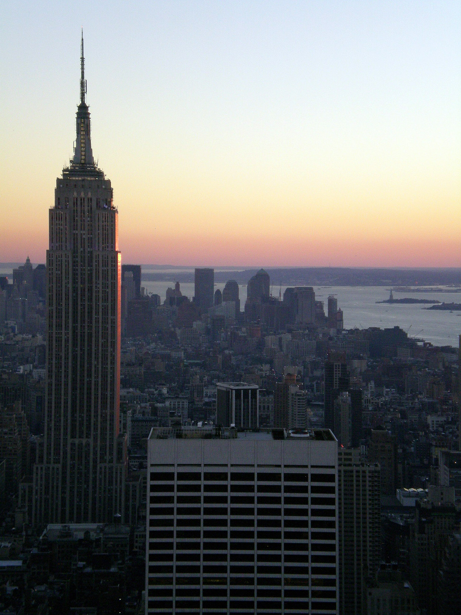 Empire State Building desde Top Of The Rock