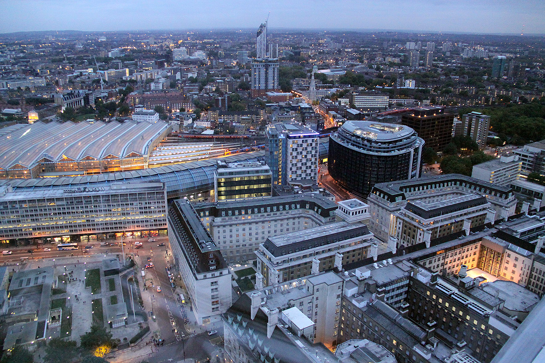 Vista desde el London Eye - Londres