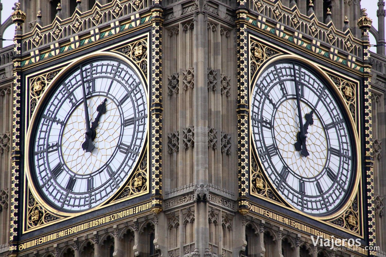 El reloj del Big Beng