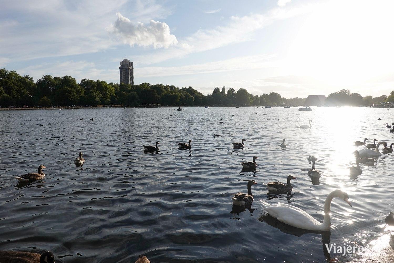 Hyde Park, en Londres