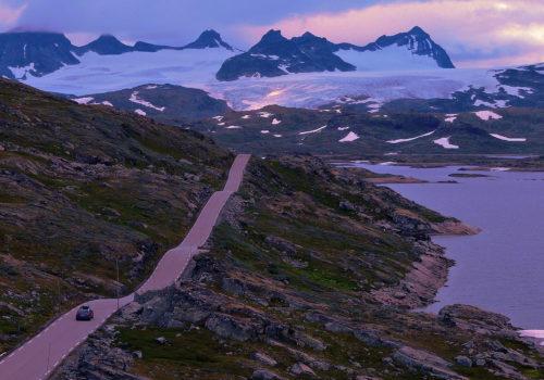 Sognefjellsvegen, naturaleza en pleno esplendor