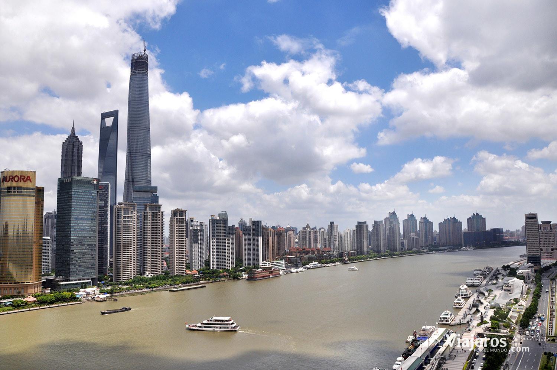 Panorámica de Shangai
