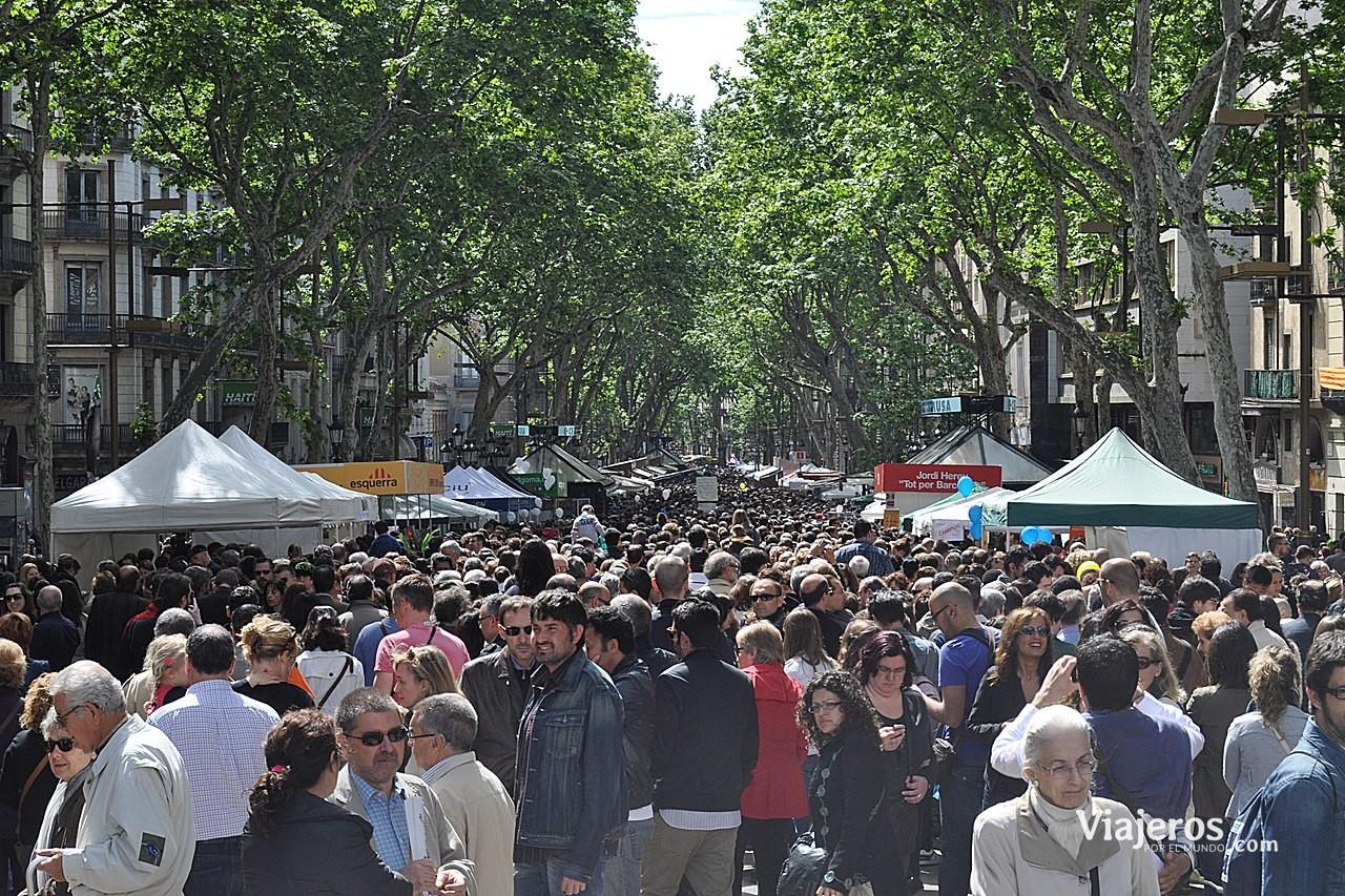 Las Ramblas de Barcelona - Viajeros por el Mundo