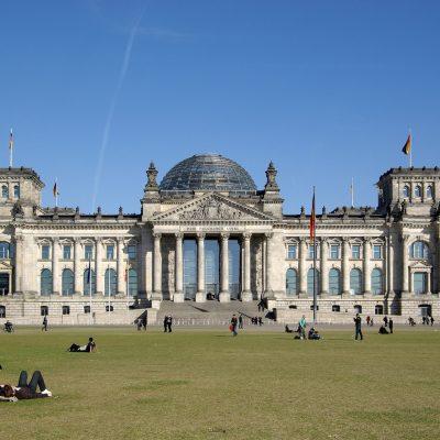 Parlamento alemán de Berlín