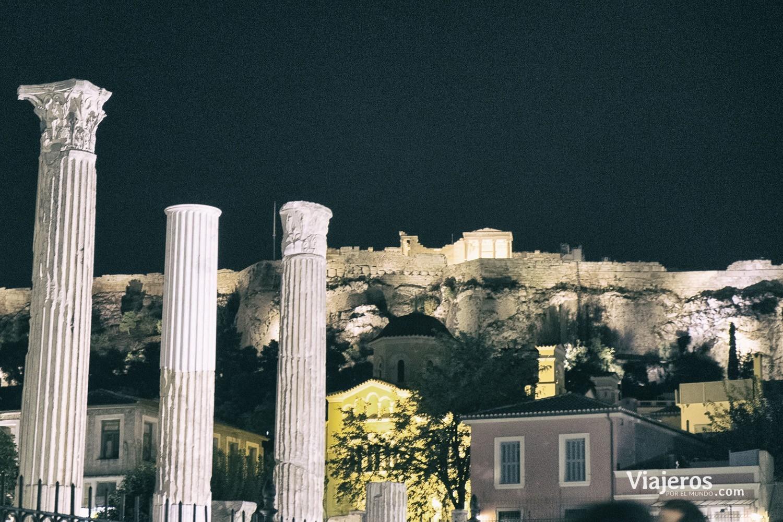 skyline nocturno viajeros por el mundo