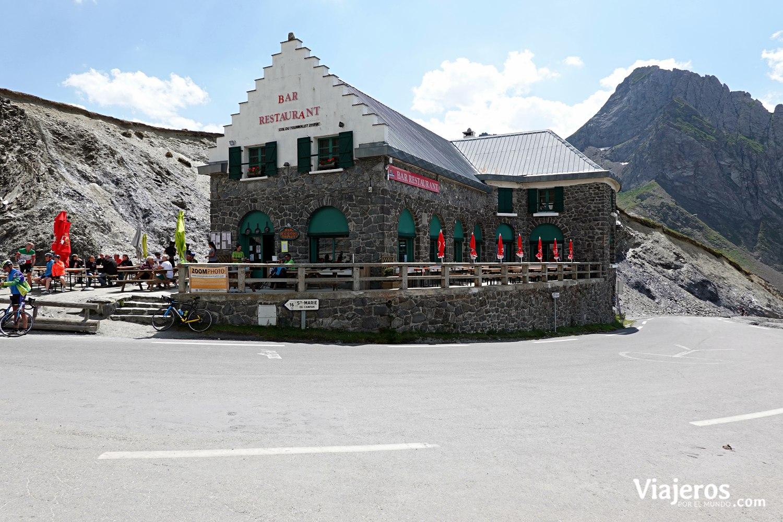 Restaurante en el Puerto de Tourmalet