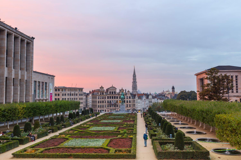 mont des arts bruselas