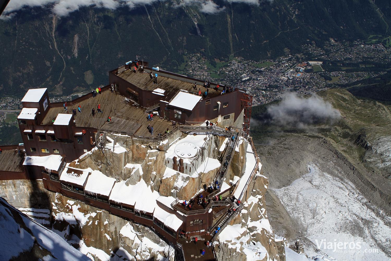 Aiguille du Midi - Viajeros por el Mundo