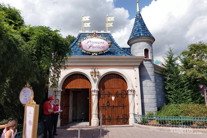 Princess Pavilion en Fantasyland