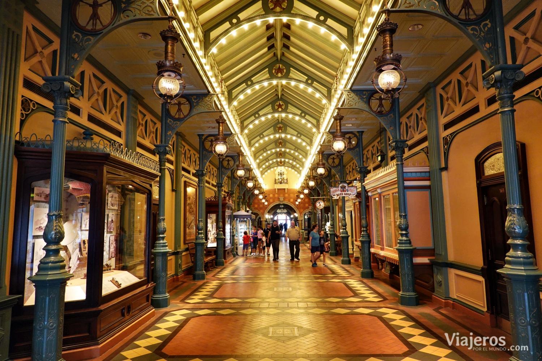 Galería Arcade en Disneyland París