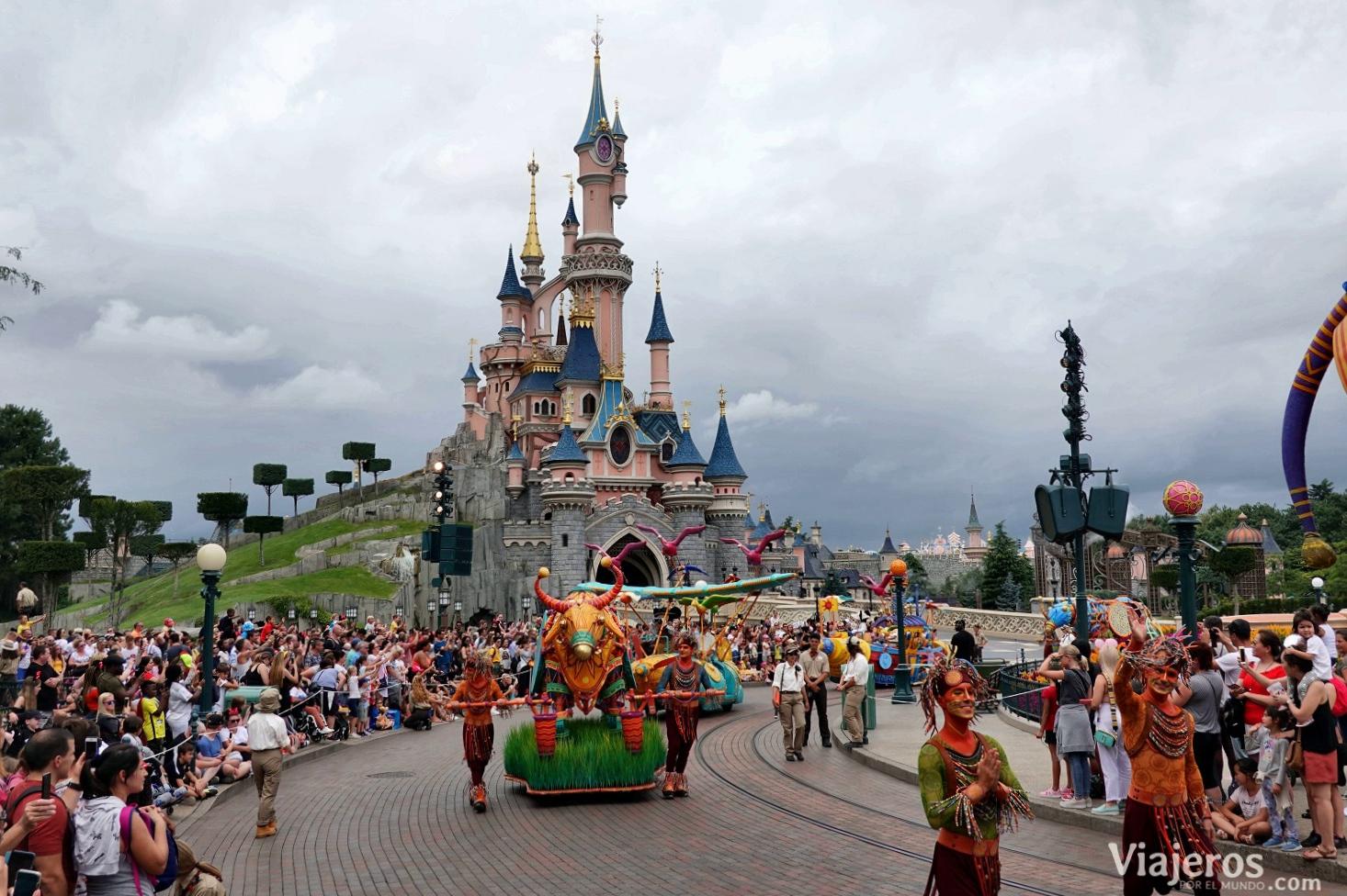 Cabalgata en Disneyland París