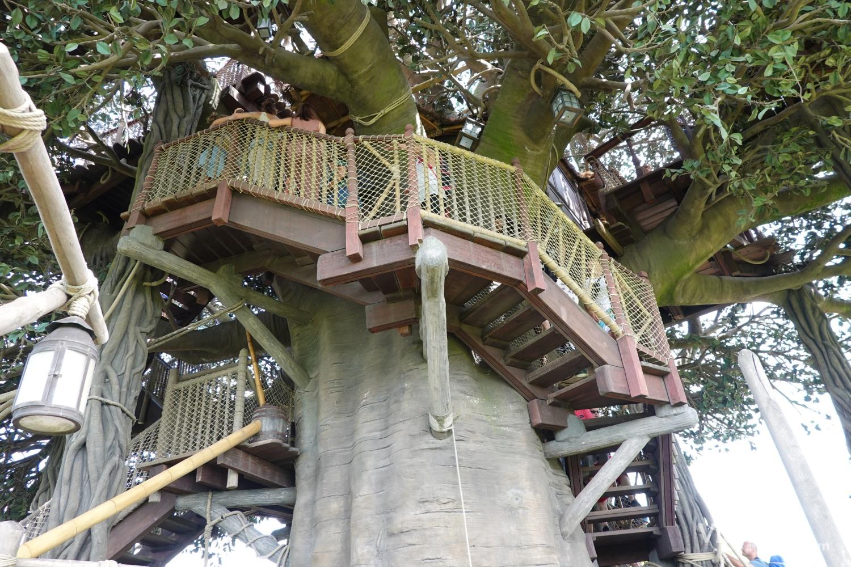 Cabaña de Robinson en Adventureland