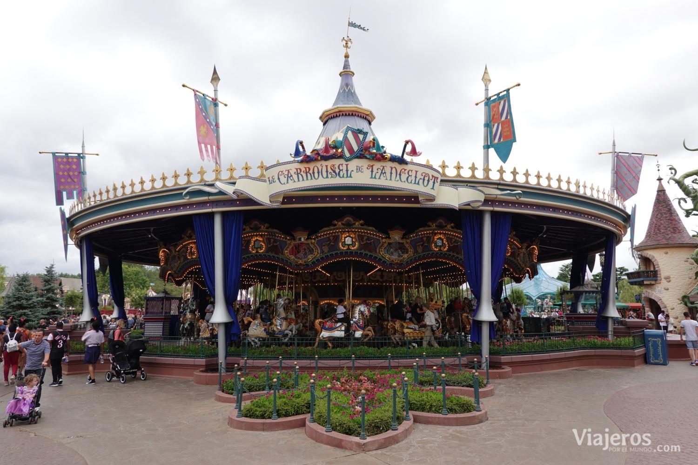 Carrousel de Lancelot en Fantasyland