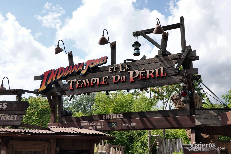 Atracción Indiana Jones en Adventureland