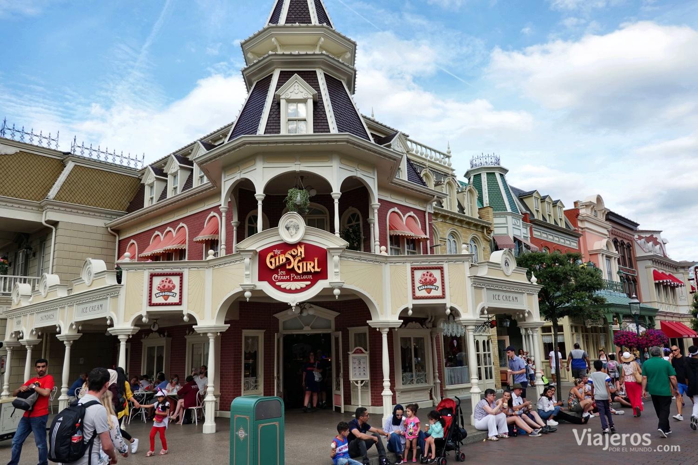 Calle principal (Main Street) en Disneyland París