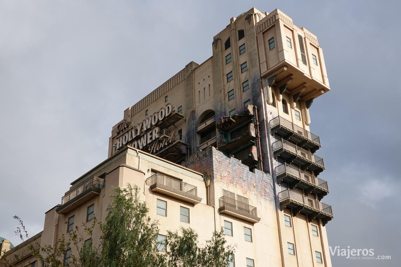 Atracción The Hollywood Tower en Disney Studios