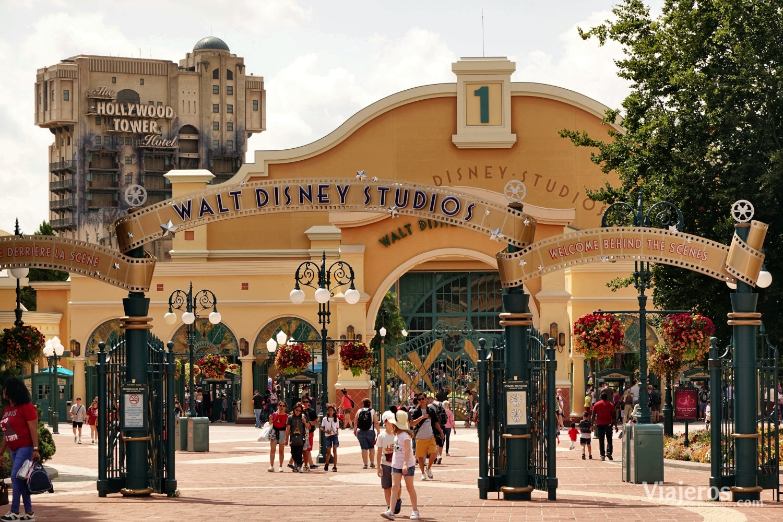 Entrada a Disney Studios
