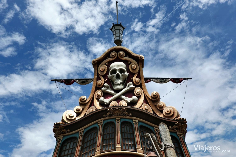 Barco pirata en Adventureland