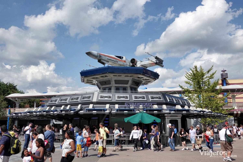 Atracción Star Wars en Discoverland
