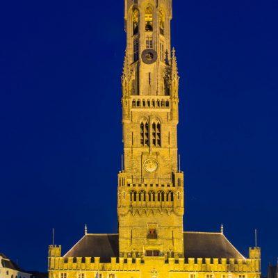 Belfort, torre emblemática de Brujas