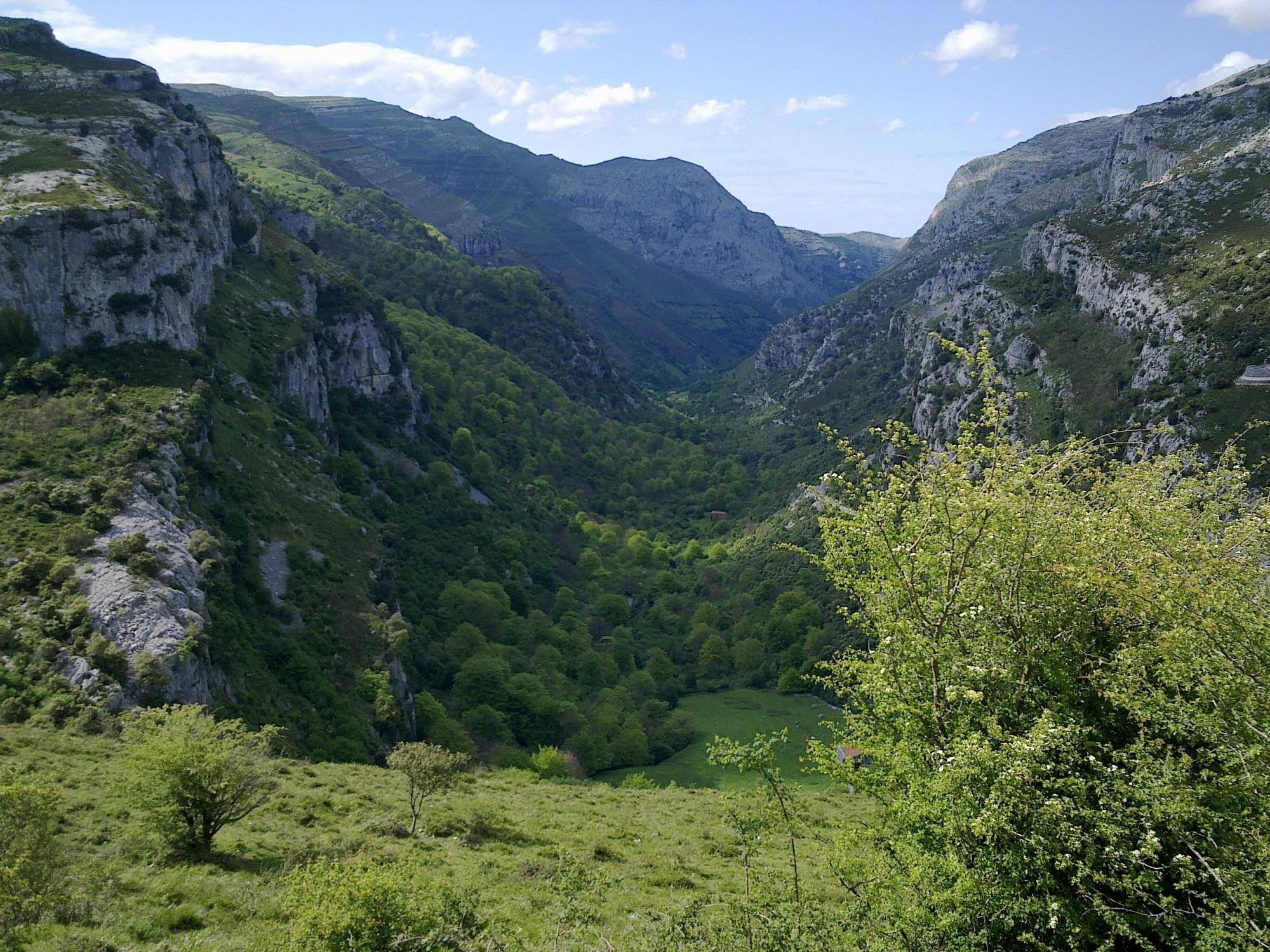 que ver en Cantabria nacimiento río Asón