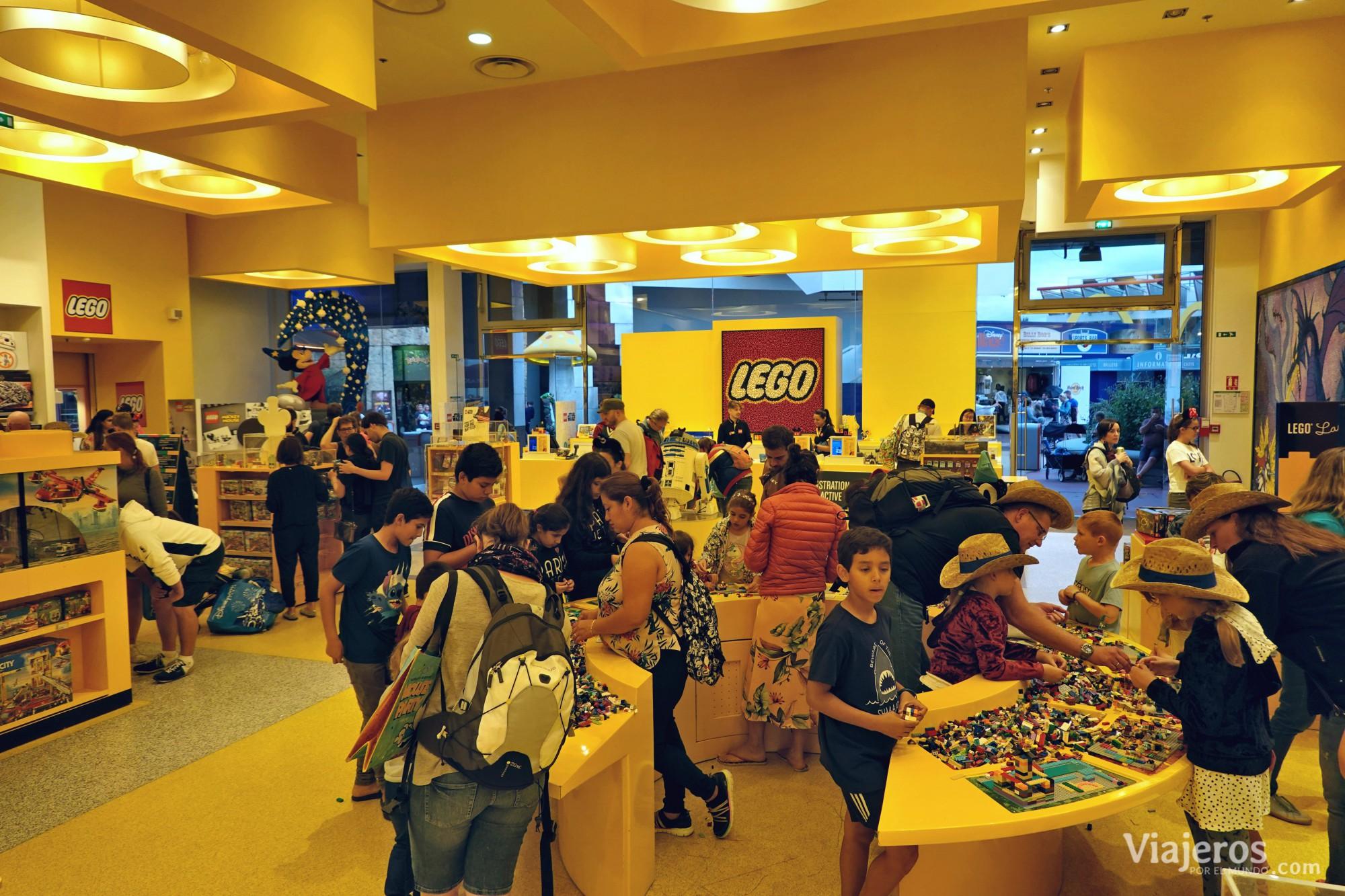 Tienda Lego en Disney Village (Villa Disney)