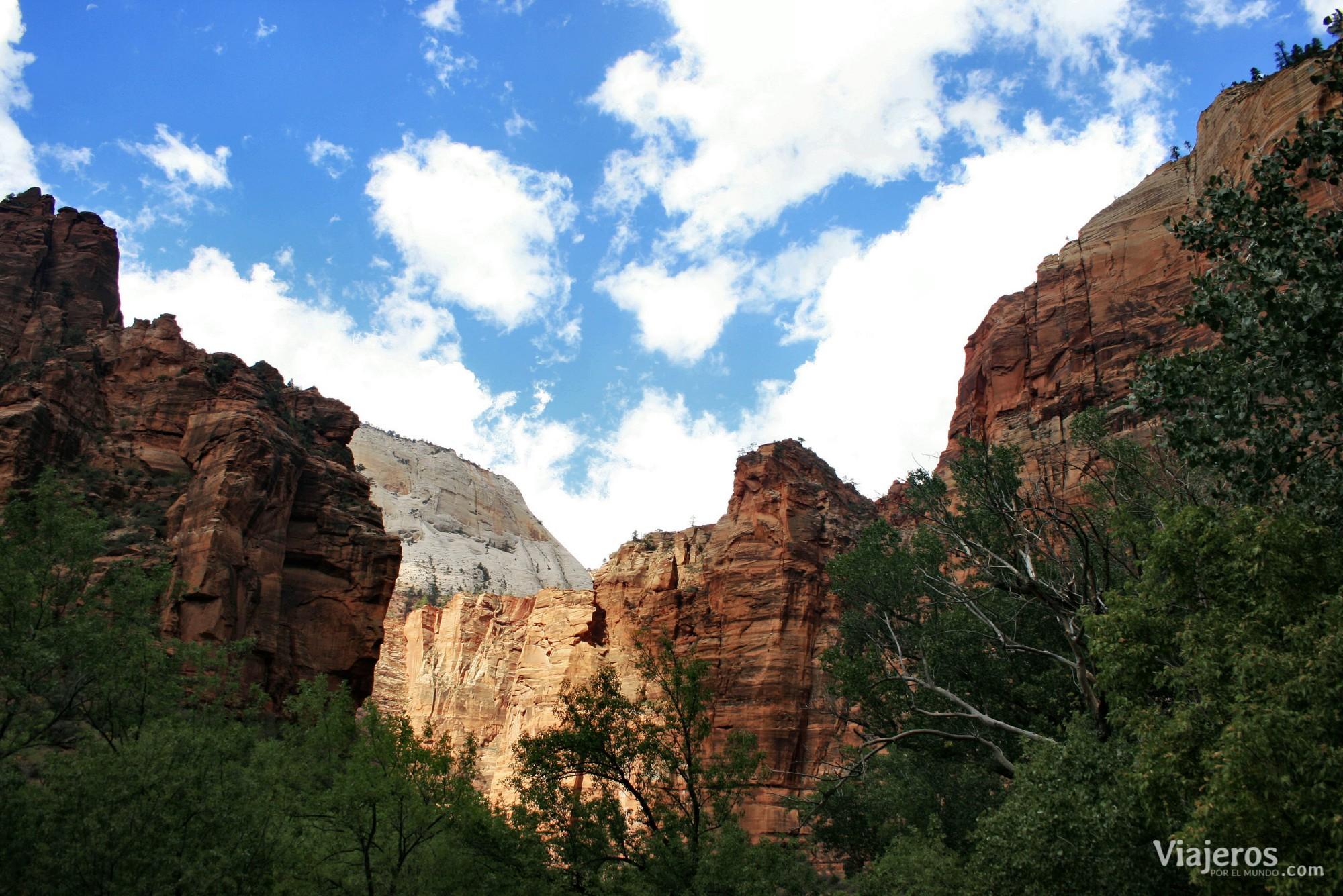 Parques Nacionales de Estados Unidos Zion National Park