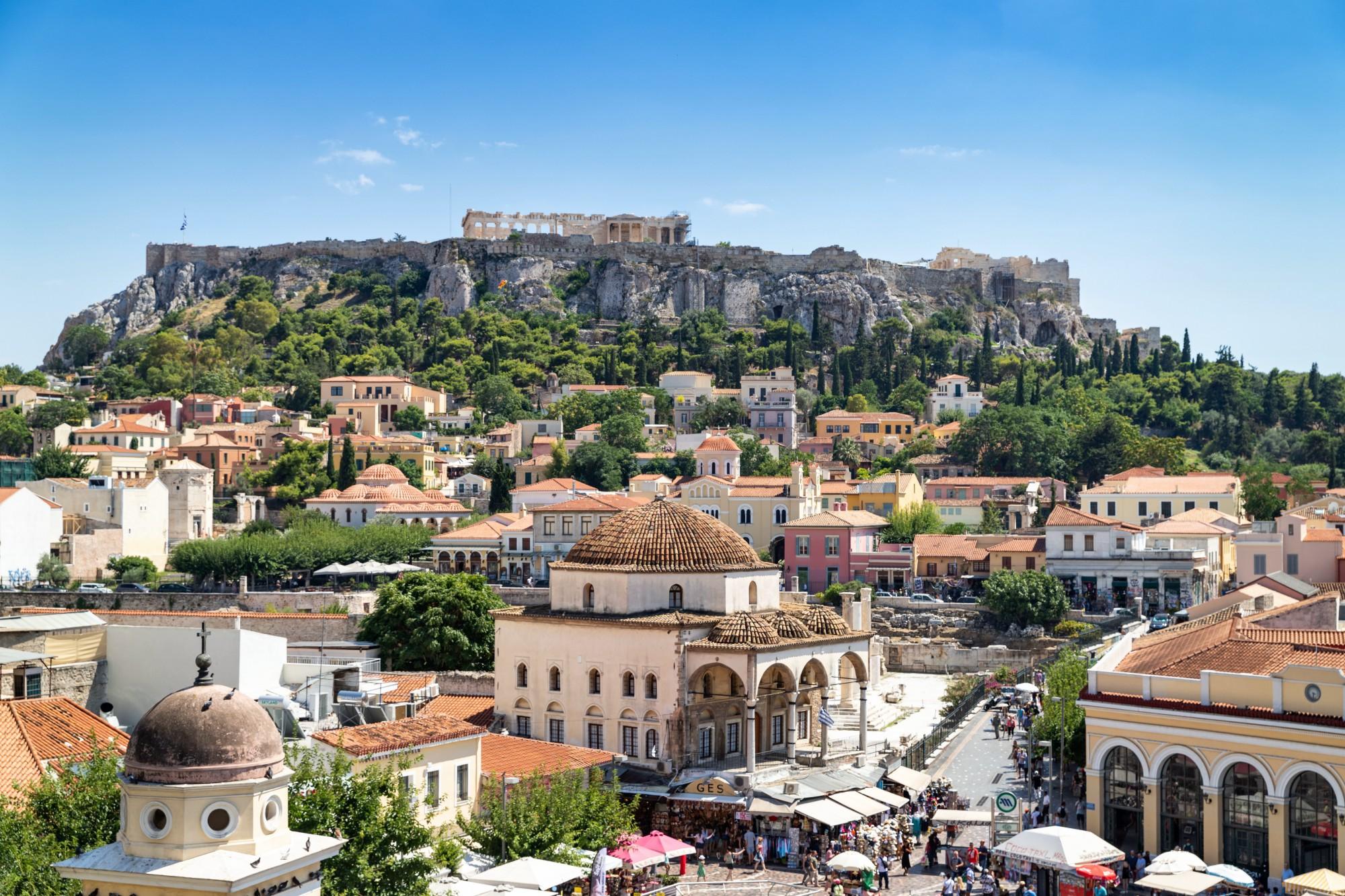 qué ver en Atenas Barrio de Monasteraki