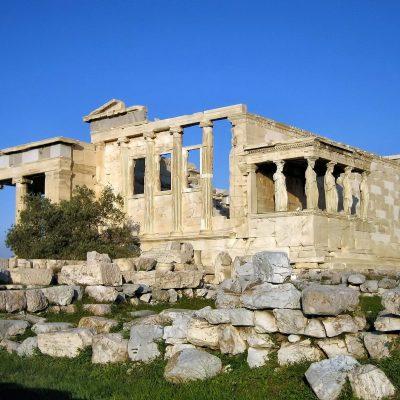 Erecteón, el antiguo templo Griego