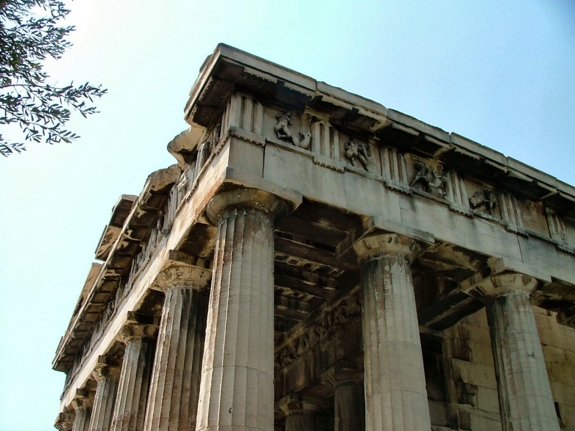 qué ver Atenas Hefestion