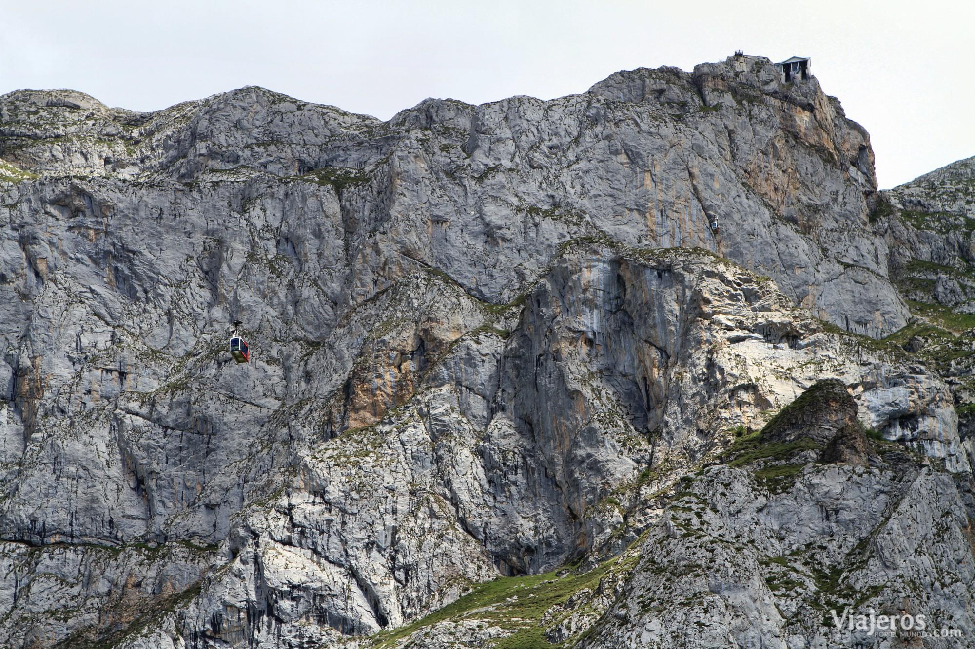 qué ver en Cantabria Teleférico de Fuente Dé