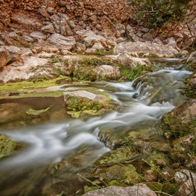 Nacimiento del río Guadalquivir, el lugar de un grande