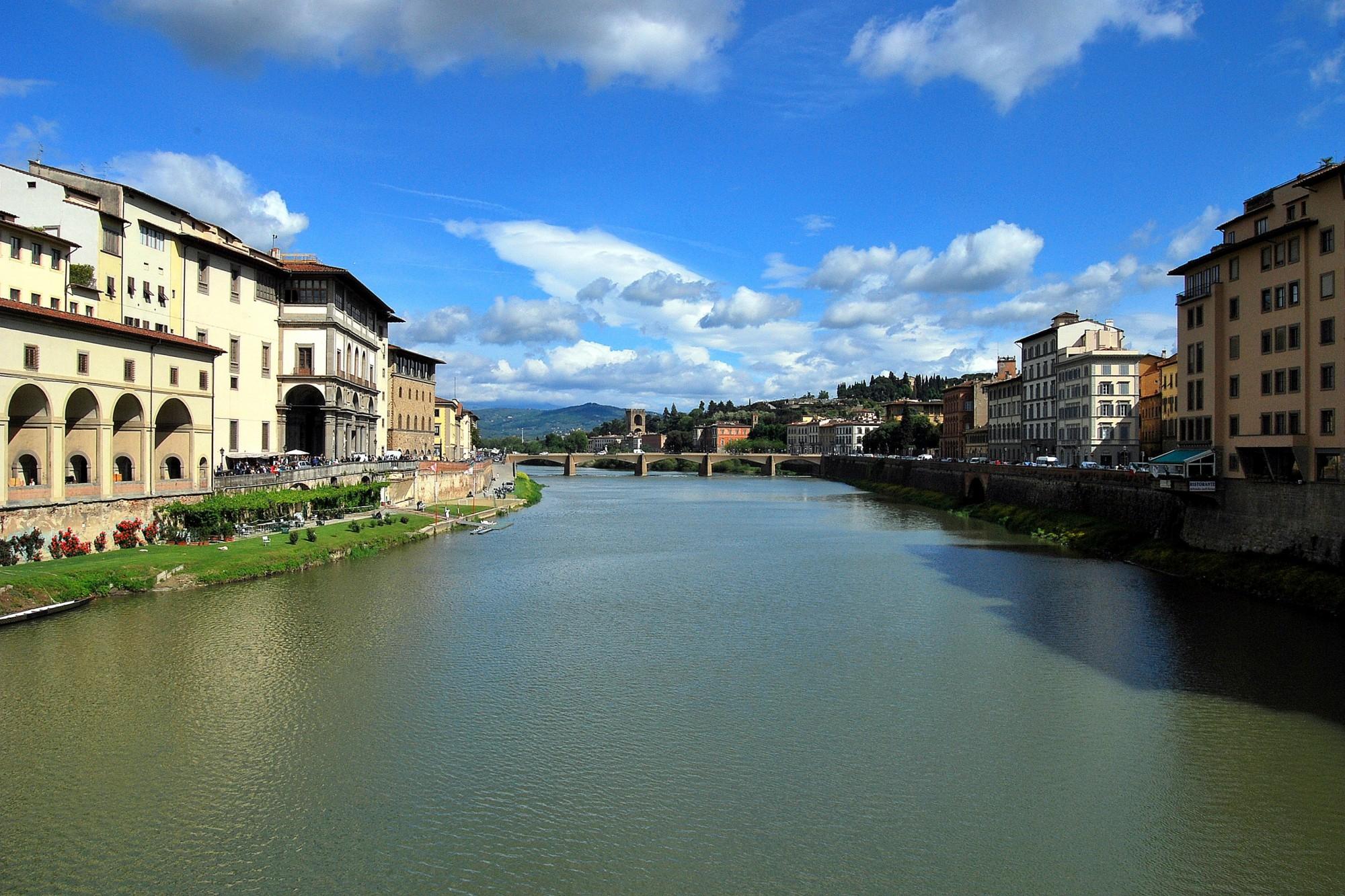 qué ver en Florencia Río Arno