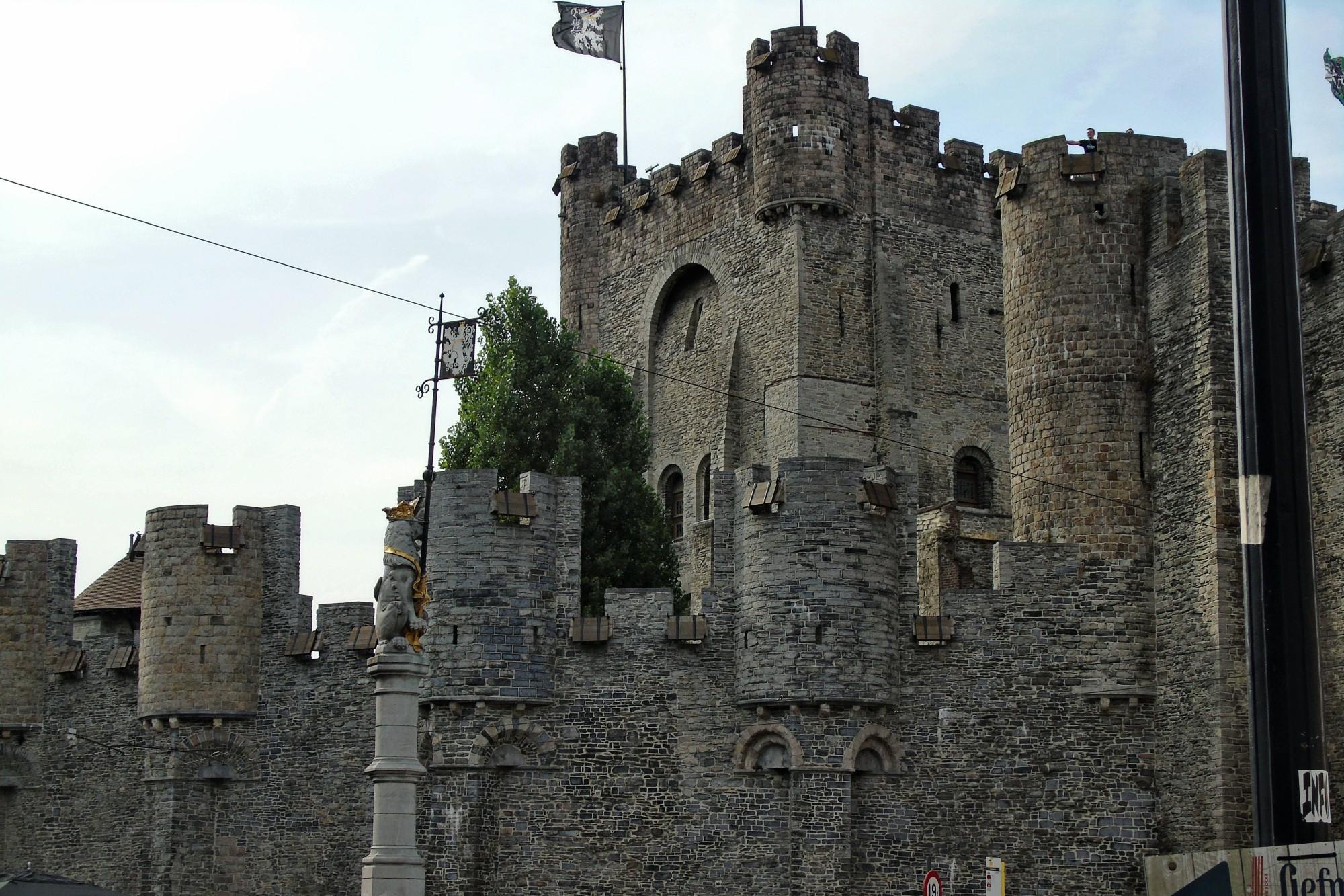 qué ver Gante Castillo de los Condes de Flandes
