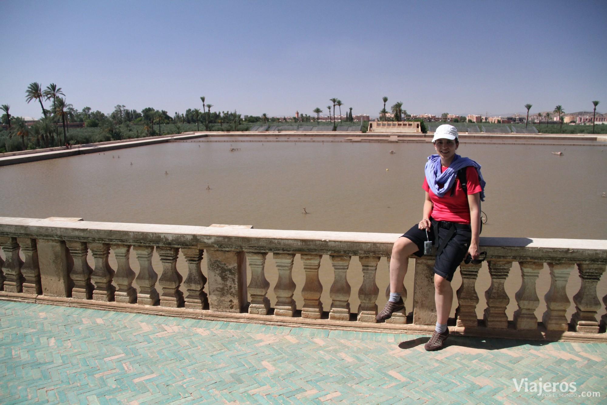 Que ver Marrakesch Jardines de Menara