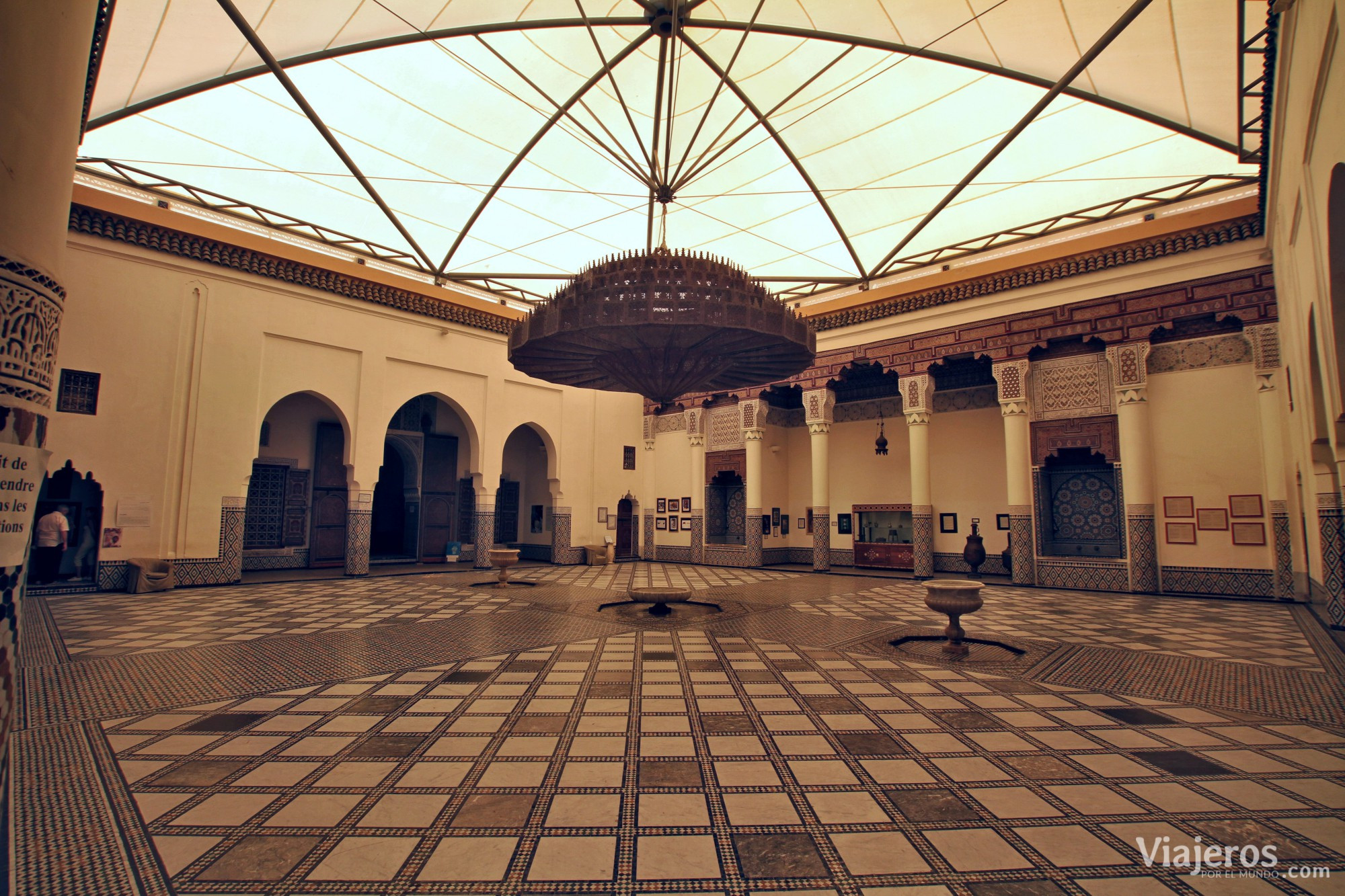 que ver en Marrakech madraza de Ben Youssef