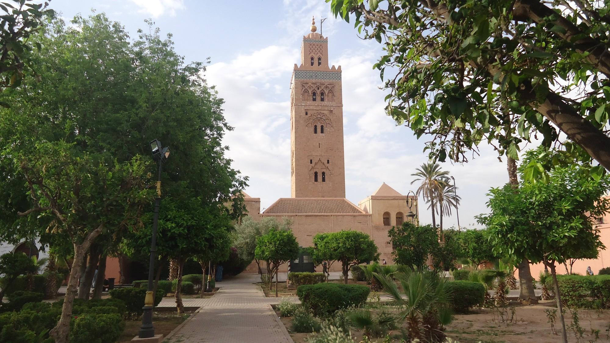 que ver Marrakech Mezquita Kutubia