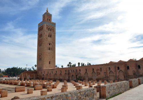 Mezquita Koutubía, el techo de Marrakech