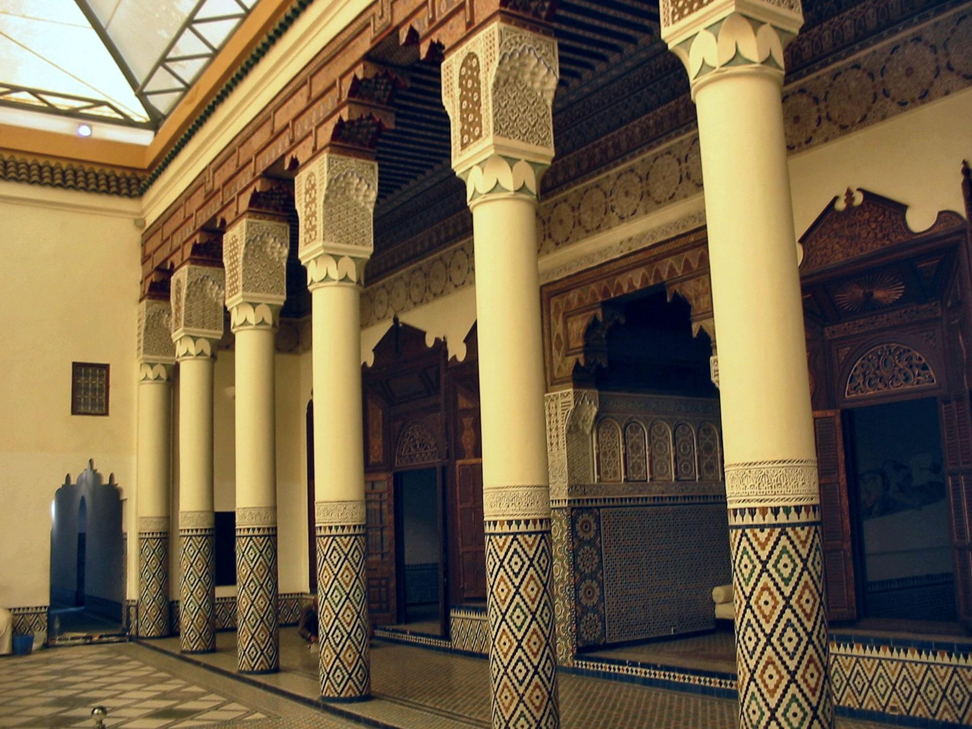 Museo de Marrakech, un Riad histórico y cultural - Viajeros por el Mundo
