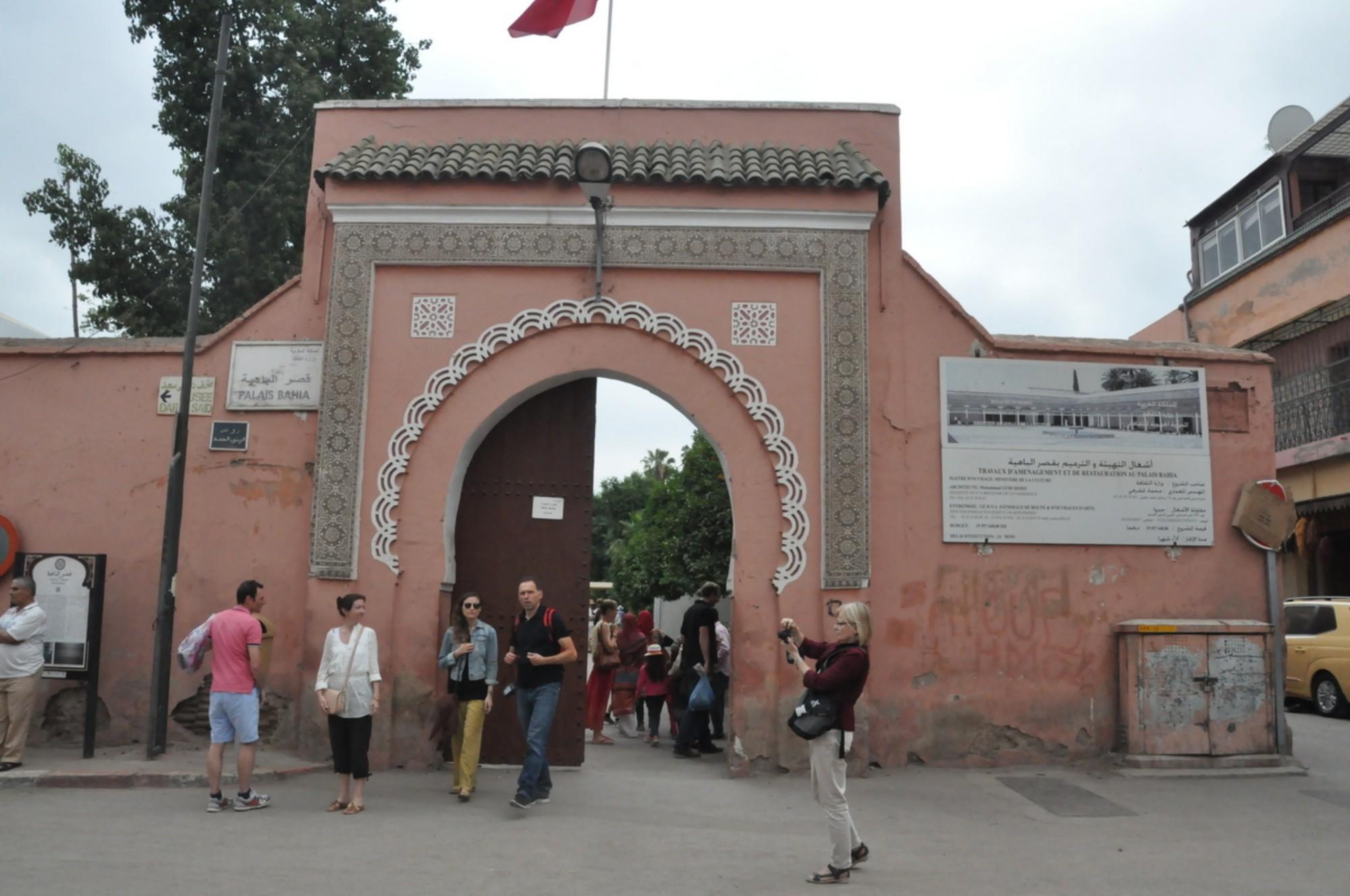 que ver Marrakech Palacio de la Bahía