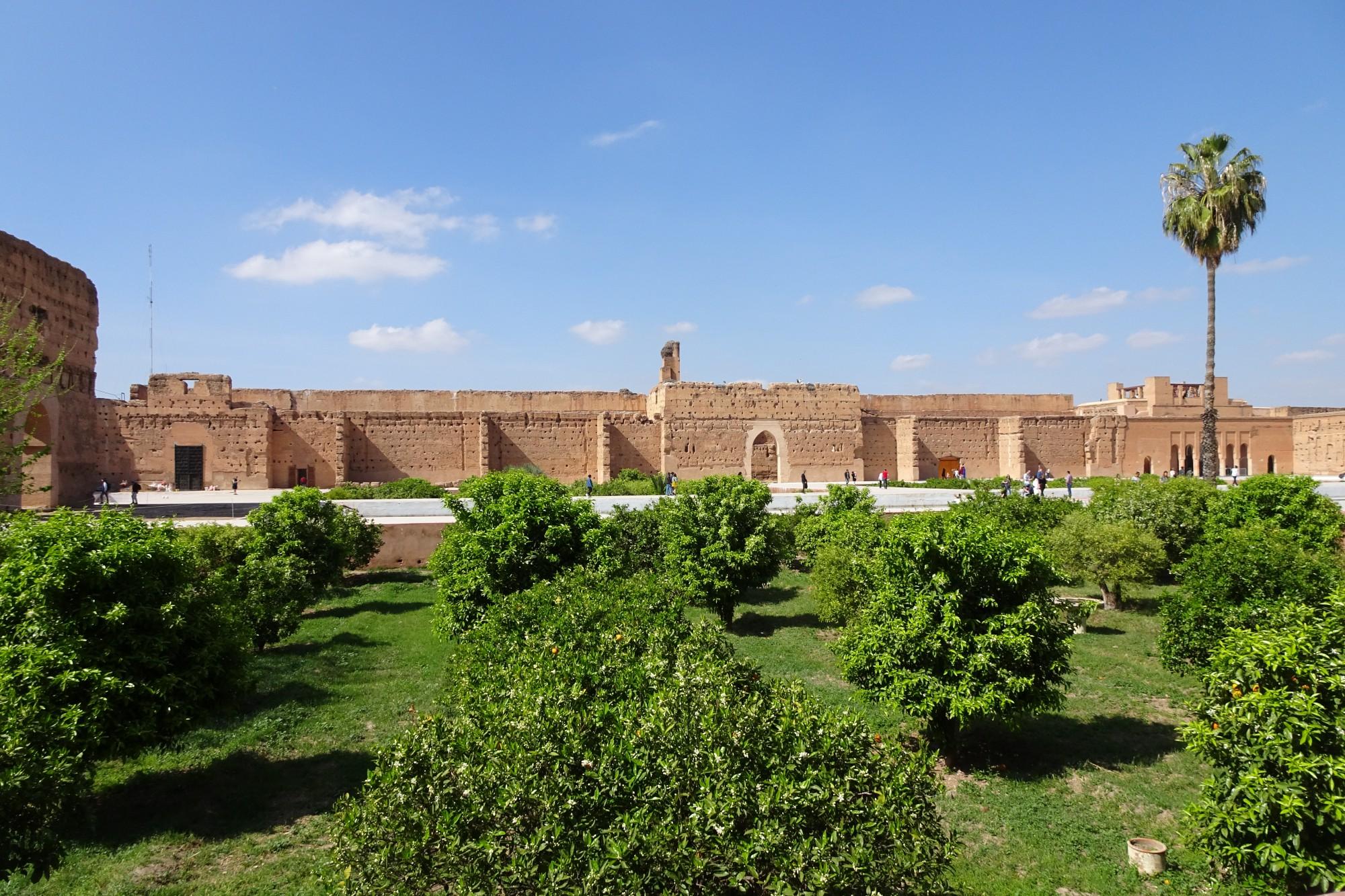 qué ver en Marrakech Palacio el Badi
