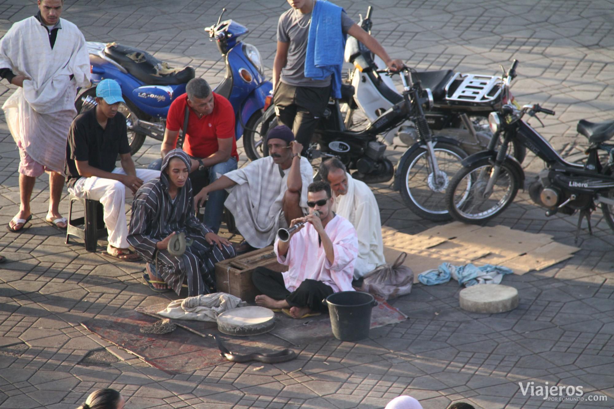 qué hacer en Marrakech Plaza Yamaa el Fna