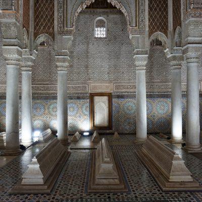 Tumbas Saadies, un mausoleo que emana historia