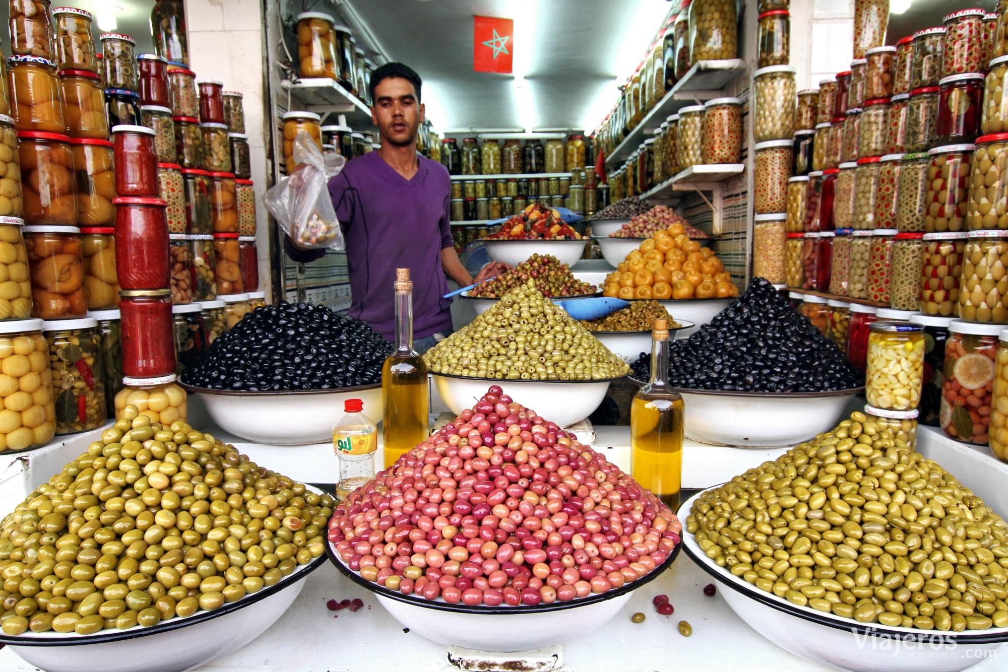 qué hacer en Marrakech el zoco