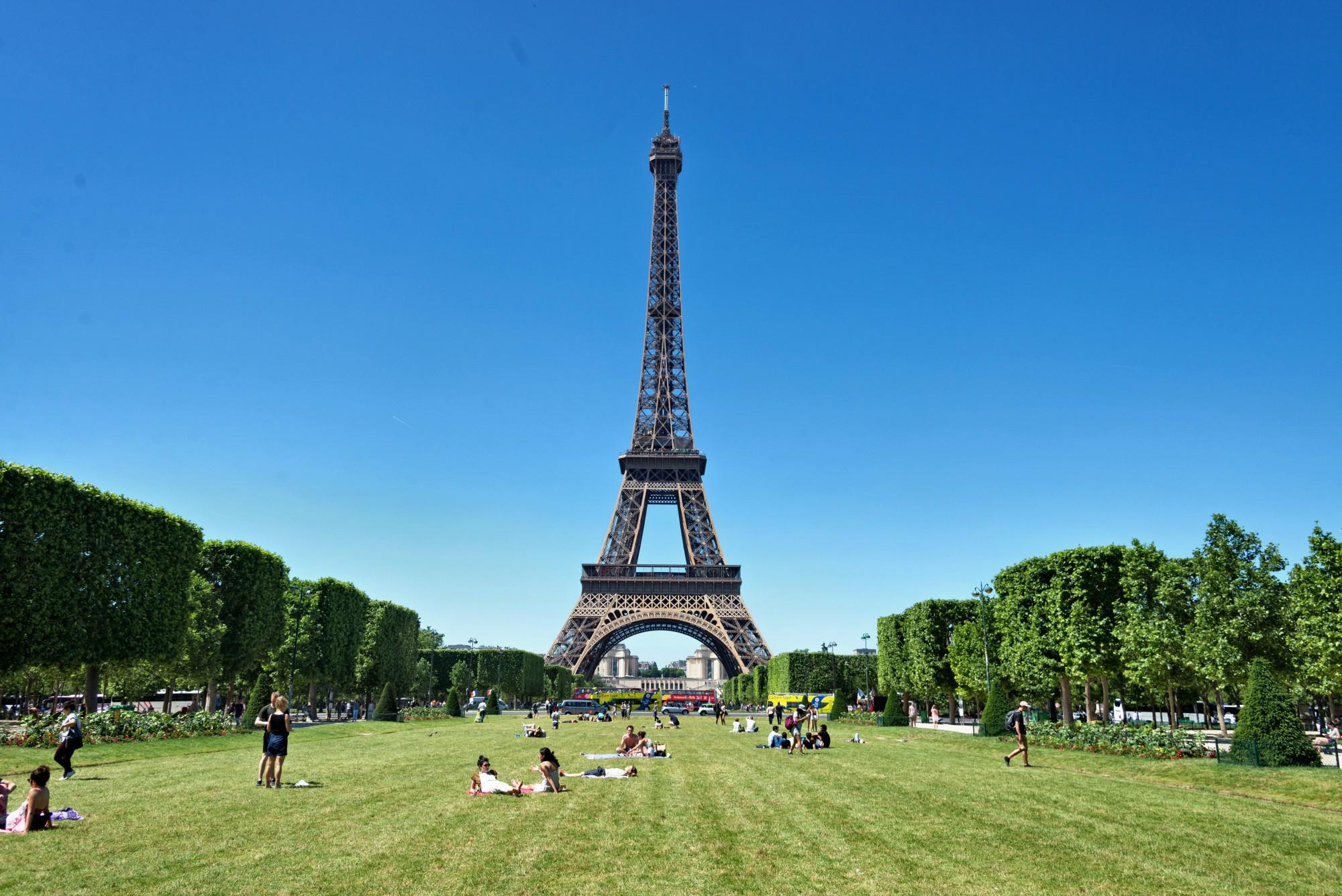 qué ver en París Campo de Marte