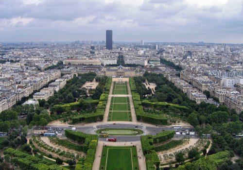 Campo de Marte en París, altar de la Patria