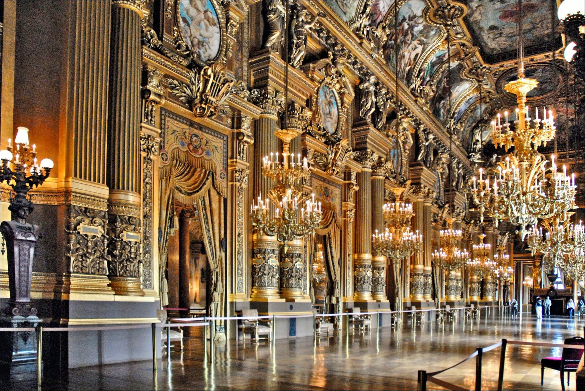 Qué ver París Opera Garnier